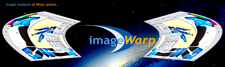 ImageWarp - image analysis at warp speed